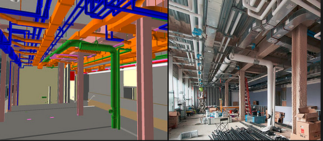 part 2/4, mep coordination: example of shop drawings and detailing - repone  construction expert